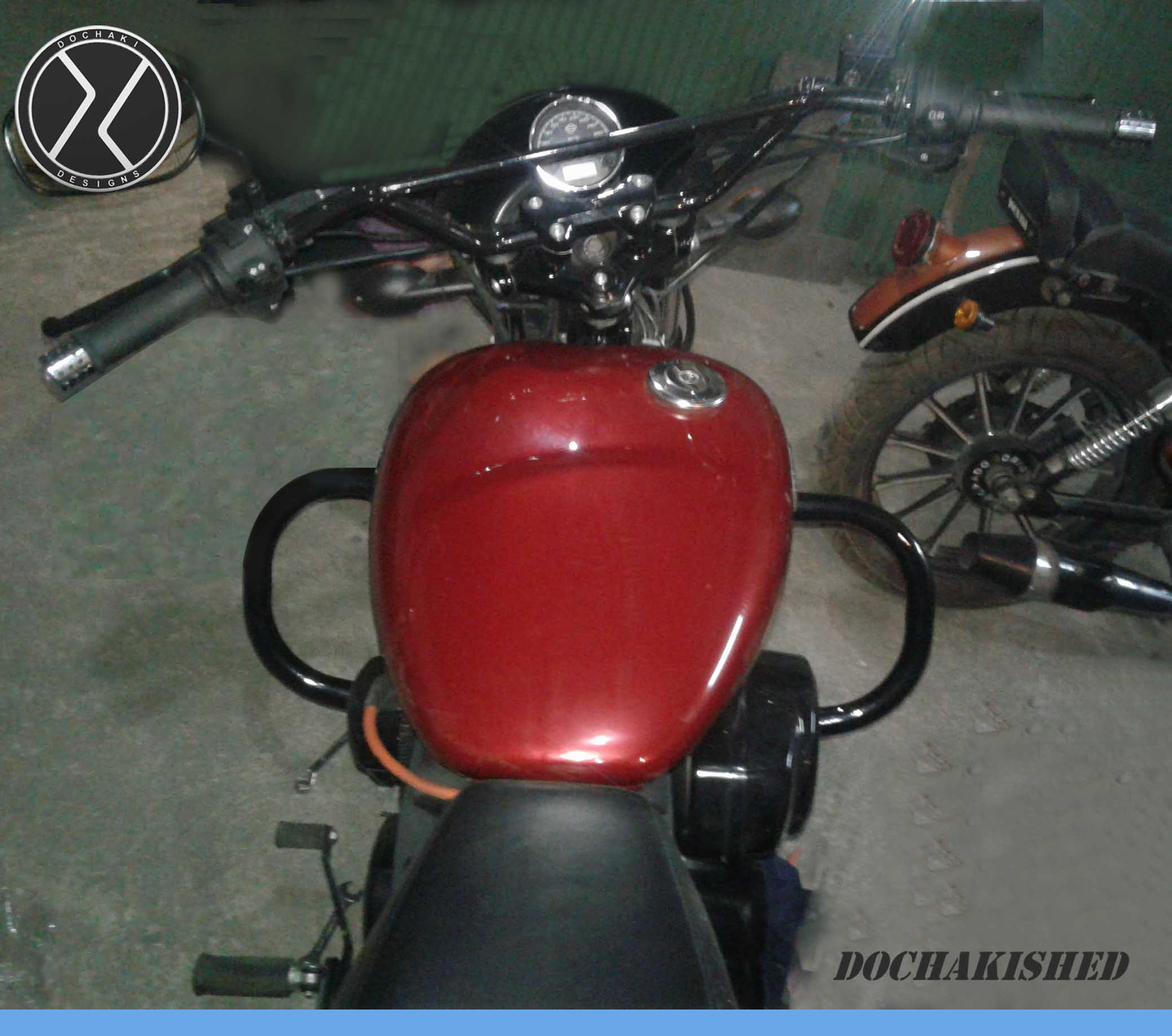 Harley Davidson, Street 750, Crash Guard, Accessories, Pune, Bhopal,