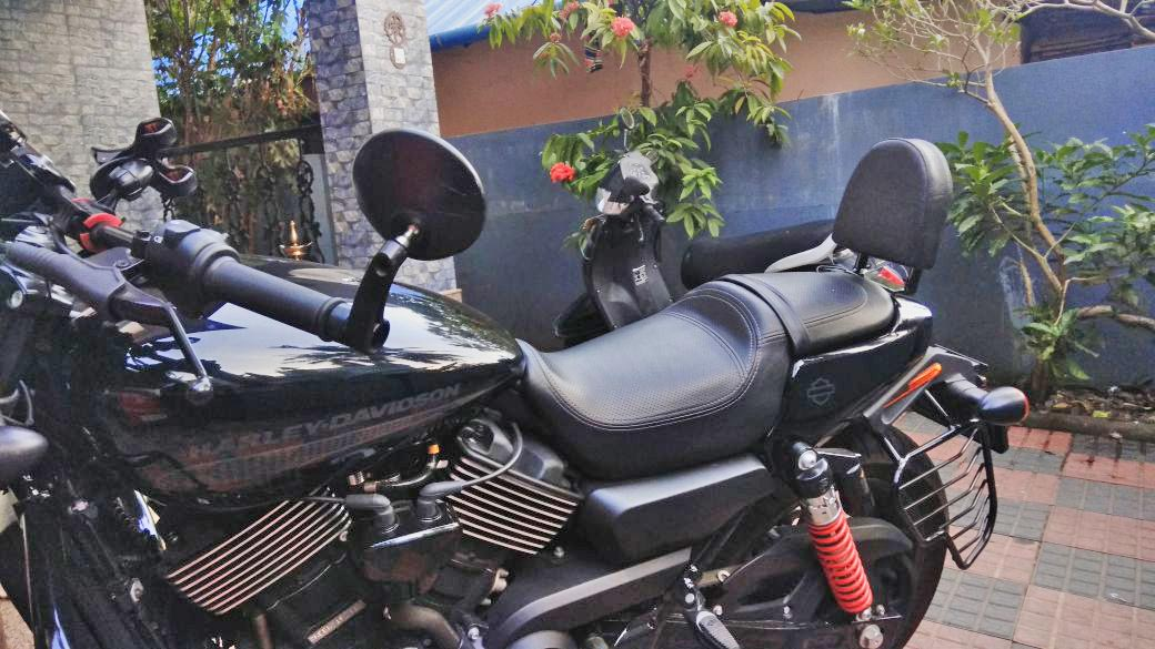 Harley Davdson, Street rod, dochakished, backrest, best quality, pune, india, bhopal, indore,
