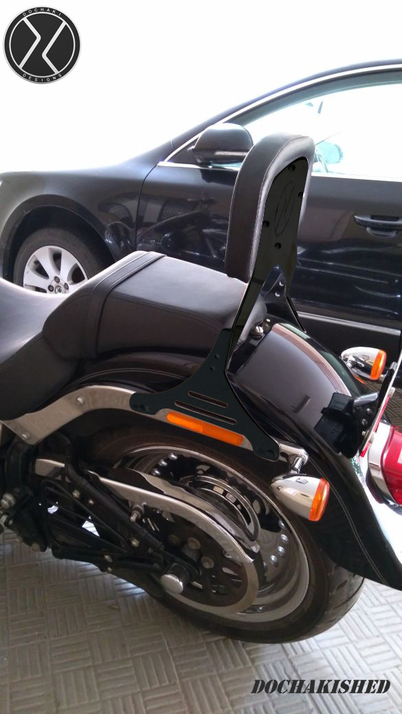 Harley Davidson Accessories, Backrest, India, Dochaki, Custom Motorcycles